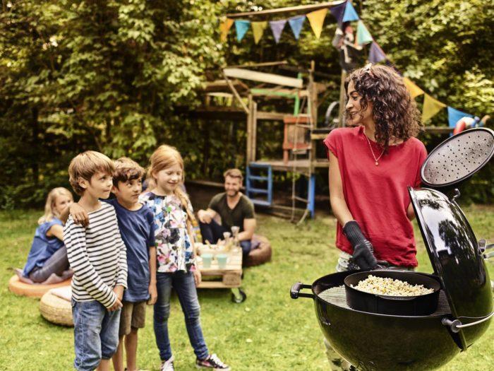 Corso di barbecue per i bambini