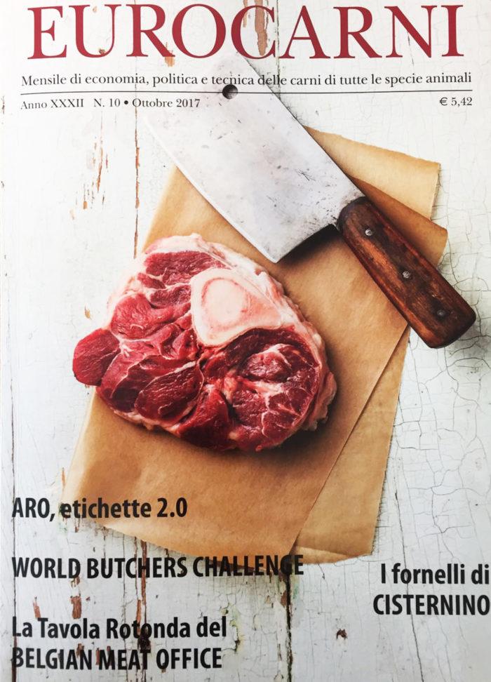 copertina eurocarni magazine ottobre 2017 - jubatti bbq
